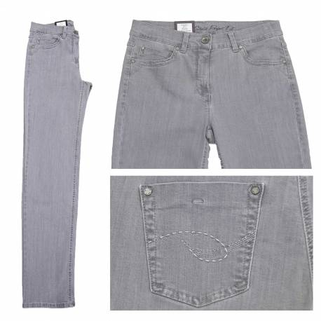 Jeans Magic Strech Silver