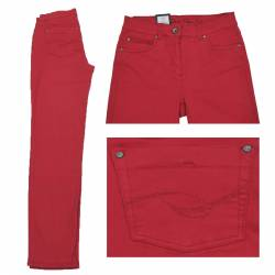 Jeans Magic Stretch Rouge