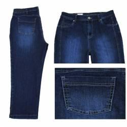 Pantacourt Dora confort fit Bleu Jeans