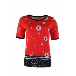Tee-shirt Hajo Fleuri Femme