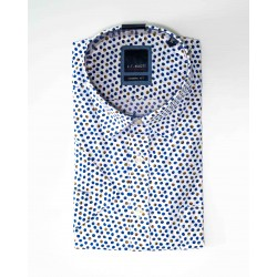 Chemise manches courtes à motif
