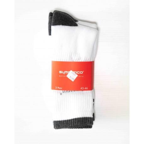 Pack 3 Chaussettes de Sport Blanche