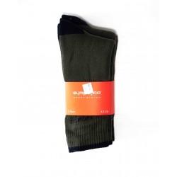 Pack 3 Chaussettes de Sport Kaki