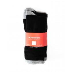 Pack 3 Chaussettes Sympatico de Sport Noir