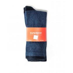 Pack 3 Chaussettes de Sport Bleu marine