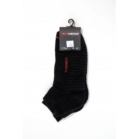 Pack 2 Socquettes de Sport Noir