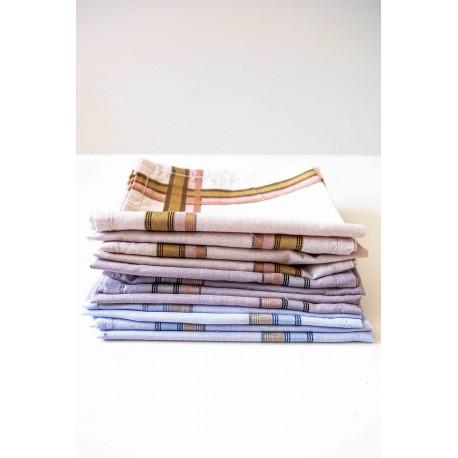 Mouchoirs à carreaux - Lot de 12