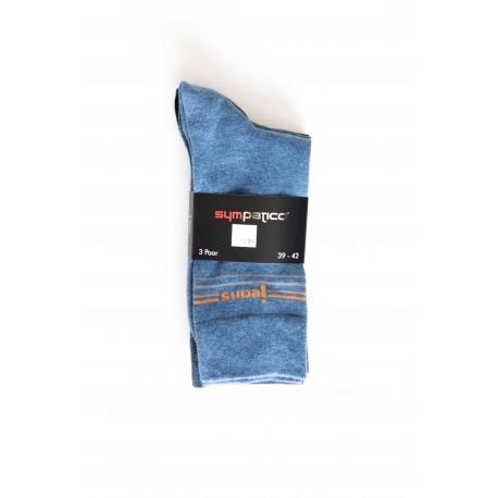 Pack 3 Chaussettes thème Jeans