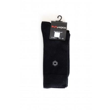 Pack 2 Chaussettes Motif Noir