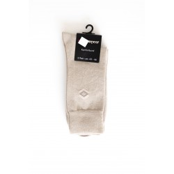 Pack 2 Chaussettes Motif Beige