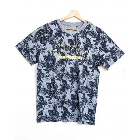 Tee-shirt Blue Seven motif à fleurs Bleu