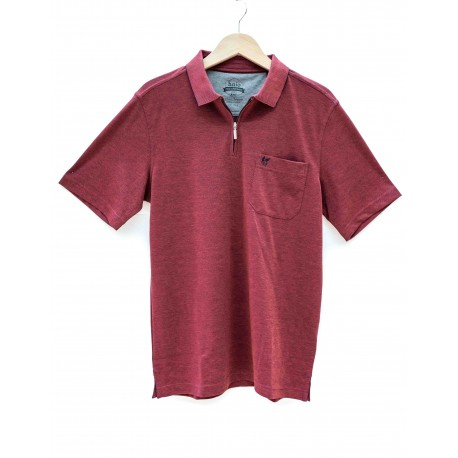 Polo Hajo SoftKnit Rouge