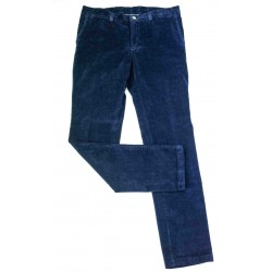 Pantalon Velours TCH Bleu