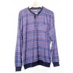 Pyjama éponge Hajo Fantaisie Bleu Marine