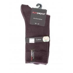 Pack 2 Chaussettes Sympatico Coton Marron