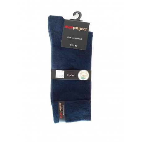 Pack 2 Chaussettes Coton Marine
