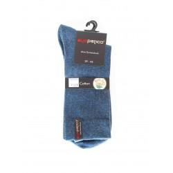 Pack 2 Chaussettes Coton Bleu Jeans