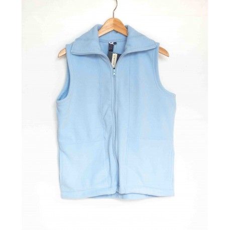 Sleeveless Vest Blue Seven Blue