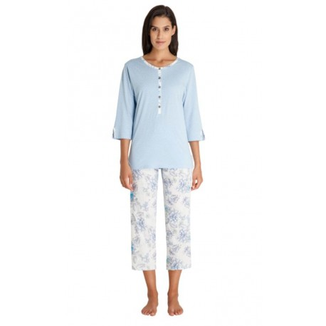 Pyjama Hajo 3/4 Femme Fantaisie