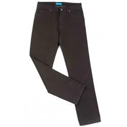 Pantalon TCH toile 5 poches Chocolat