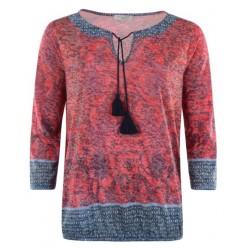 Tee-shirt Hajo Fantaisie manches 3/4 Femme