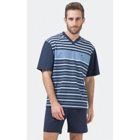 Pyjashort Hajo Rayé Col V