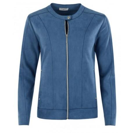 Denim Blue Light Hajo Blazer Vest