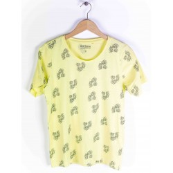 Blue Seven Women's T-shirt Giraffe Pattern