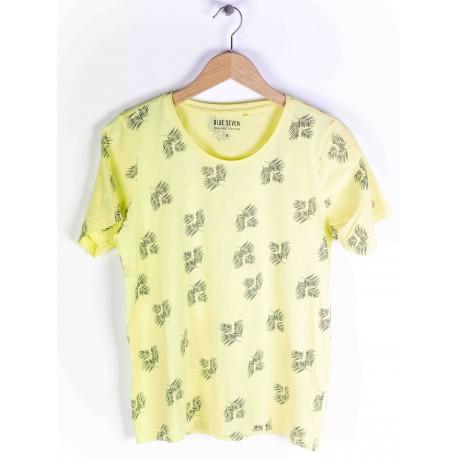 Blue Seven Damen T-Shirt Giraffenmuster