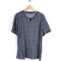 Tee-shirt Blue Seven Homme Bleu Marine Chiné