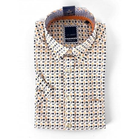 Fancy short-sleeved shirt