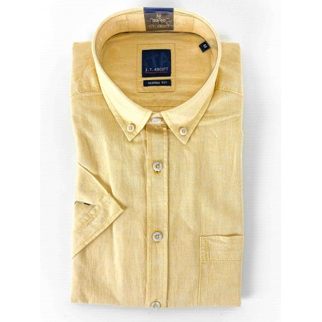 short-sleeved shirt Yellow