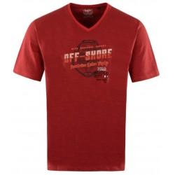 Tee Shirt Hajo Fantaisie Rouge