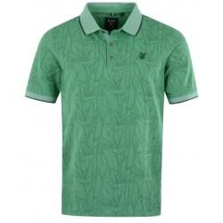 Hajo bügelfreies Poloshirt Fantasie Green