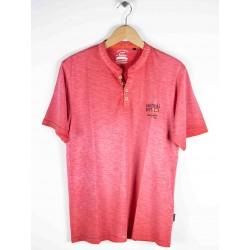 Tee Shirt Hajo Vintage Look Rouge