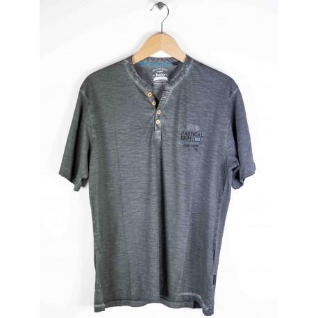 Tee Shirt Hajo Vintage Look Basalte