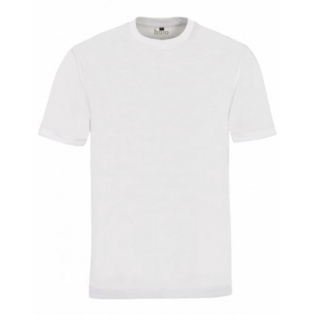 T-shirt - Pack de 2 col rond Blanc Hajo