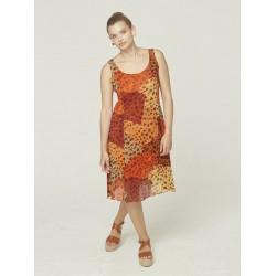 Robe Azay Femme Fantaisie Leopard