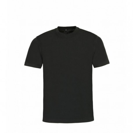 T-shirt - Pack de 2 col rond Noir Hajo