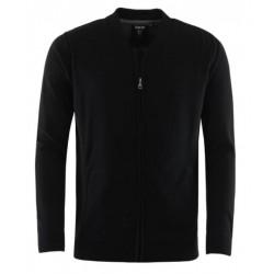 Gilet Hajo Pima Coton Noir