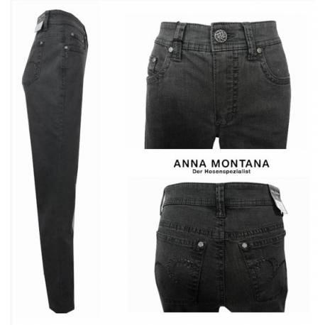 Jeans Monika coupe normale gris